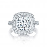 Tacori RoyalT Collection Cushion Ring HT2614CU9