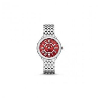 Serein 16, Red Diamond Dial Watch