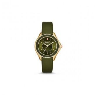 Cape Topaz Green, Gold Tone Watch