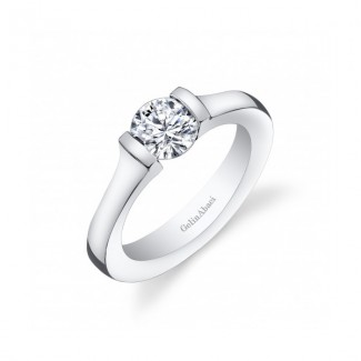 Gelin Abaci 14k White Gold Diamond Engagement Ring TR-274