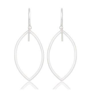 Liv Earrings In Reclaimed Sterling Silver