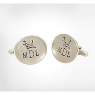 Original Framed Oval Cufflinks
