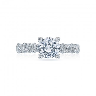 Tacori Classic Crescent Collection Solitaire Ring HT2519A12X