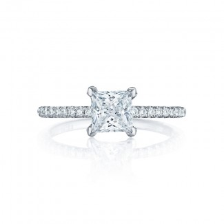 Tacori Petite Crescent Collection Solitaire Ring HT254515PR55