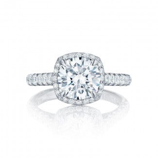 Tacori Petite Crescent Collection Solitaire Ring HT254725CU85