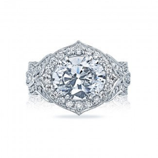 Tacori RoyalT Collection Engagement Ring HT2611OV11X9