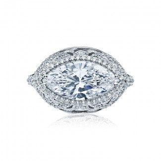 Tacori RoyalT Collection Tacori RoyalT Marquise Cut Engagement Ring HT2612MQ16X8