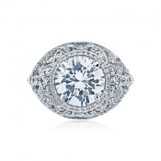 Tacori RoyalT Collection RoyalT Round Cut Engagement Ring HT2612RD10