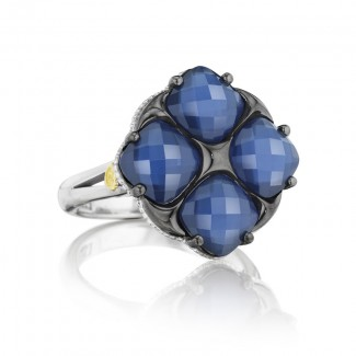 Tacori City Lights Lotus Four Gem Tilt Ring