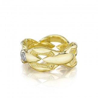 Tacori The Ivy Lane Bold Gold Links Ring