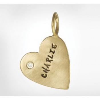 Unframed Heart Charm