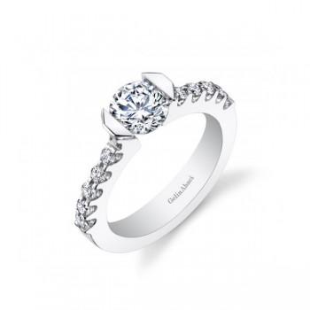 Gelin Abaci Tension Set Diamond Twist Engagement Ring TR-264