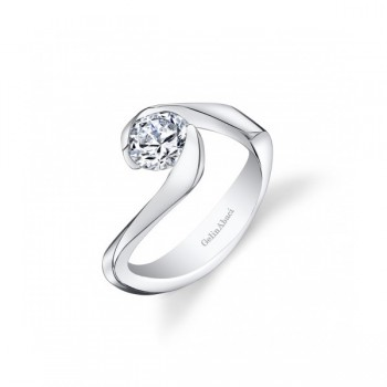 Gelin Abaci Wrap Around Tension Set Engagement Ring TR-272