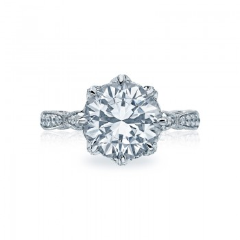 Tacori RoyalT Collection Solitaire Ring HT2604RD10