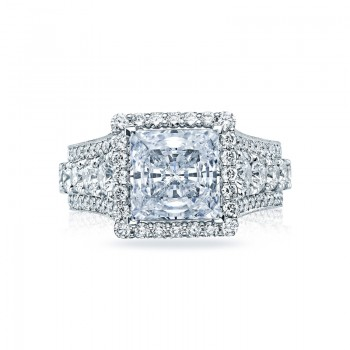 Tacori RoyalT Collection Princess Cut Ring HT2613PR85