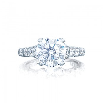 Tacori RoyalT Collection RoyalT Contemporary Engagement Ring HT2623RD9