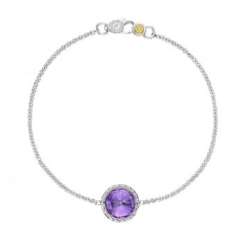 Tacori Lilac Blossoms Floating Bezel Bracelet