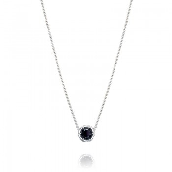 Tacori Black Lightning Station Necklace