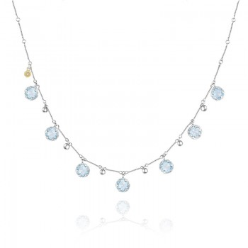 Tacori Sonoma Skies Multi Gem Drop Necklace