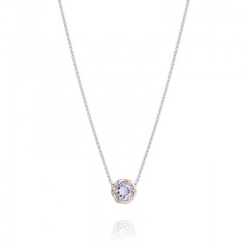 Tacori Blushing Rose Station Necklace
