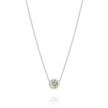 Tacori Seafoam Mint Station Necklace