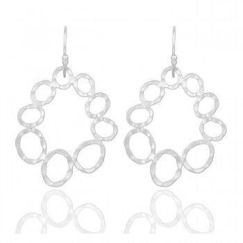 The Roxy Earrings In Reclaimed Sterling Silver