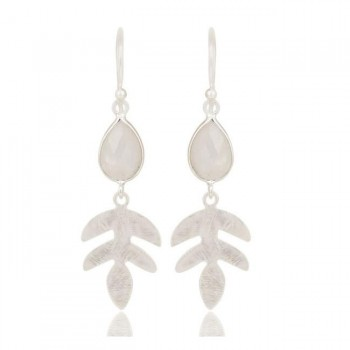 Yucca Earrings In Reclaimed Sterling Silver