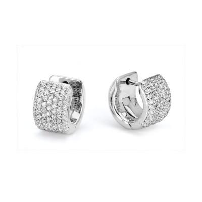 MICHAEL M 18k White Gold Earring MOB164-18W-18W