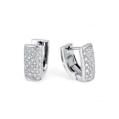 MICHAEL M 18k White Gold Earring MOB163-18W-18W