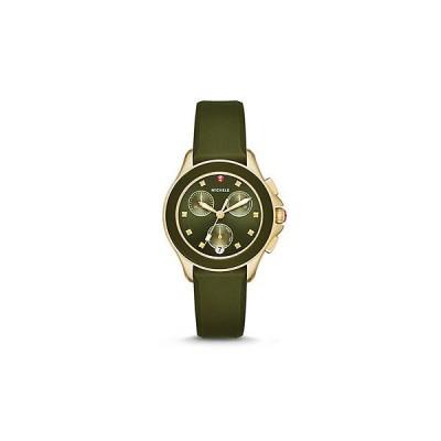 Cape Chrono Green, Gold Tone Watch