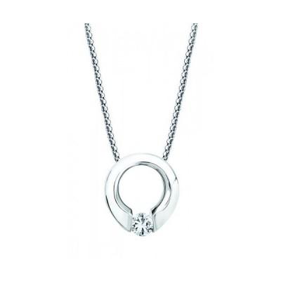 Gelin Abaci 14k White Gold Diamond Pendant TN-002