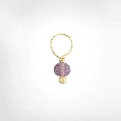 Purple Amethyst Faceted Ball