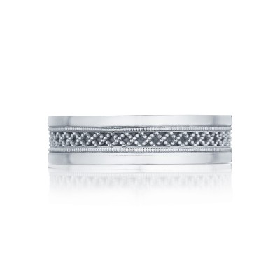 Tacori Sculpted Crescent Collection Gentlemens Band 119 6 Mens