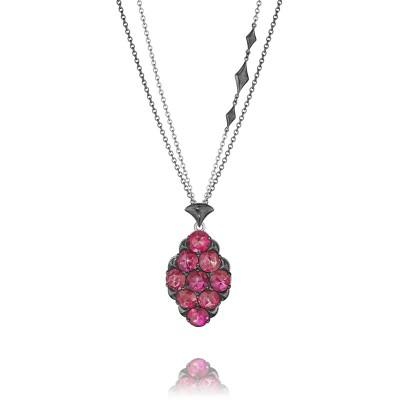 Tacori City Lights Embellished Chain Gem Pendant Necklace