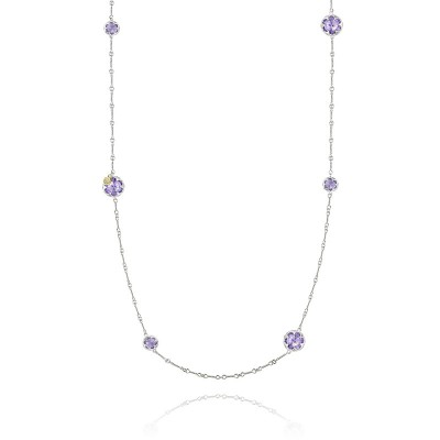 Tacori Sonoma Skies Multi Gem Station Necklace