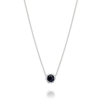 Tacori Black Lightning Station Necklace