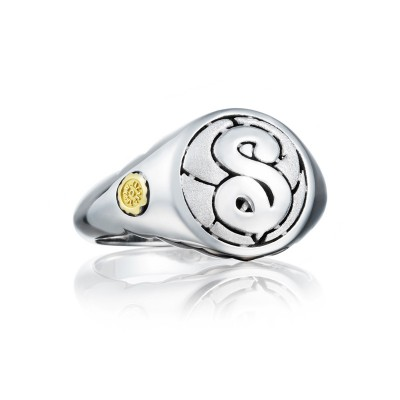 Monogram Ring SR195SSB