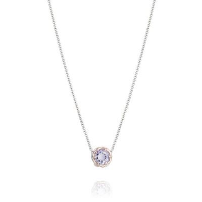 Tacori Blushing Rose Station Necklace