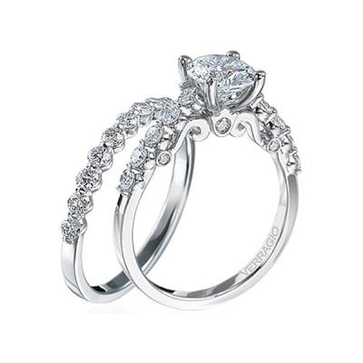 Verragio Wedding Bands.Verragio Round Brilliant Cut Diamond Engagement Ring