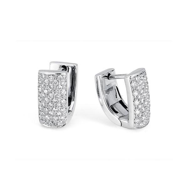 MICHAEL M 14k White Gold Earring MOB163-14W-14W