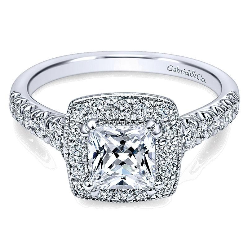 Diamond cut princess rings photo best photo