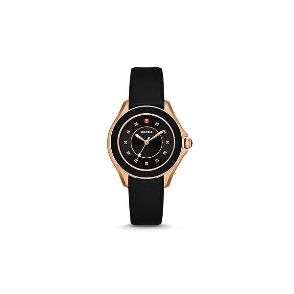 Cape Topaz Black, Rose Gold Tone Watch