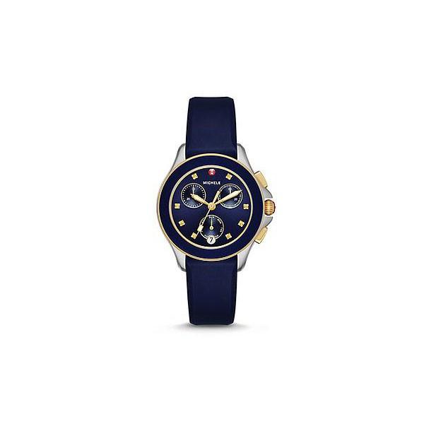Cape Chrono Navy Two Tone Watch