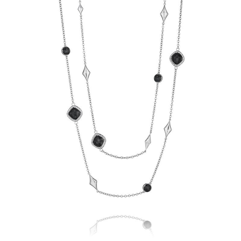 Tacori City Lights After Dark Gem Charm Necklace