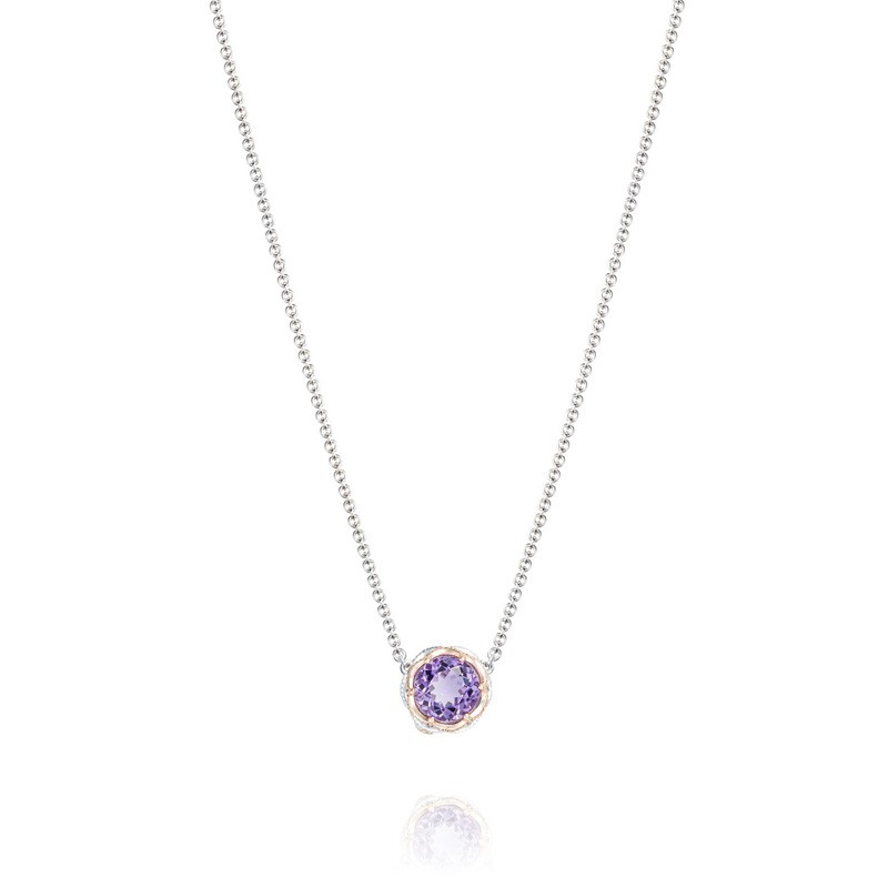 Tacori Lilac Blossoms Station Necklace