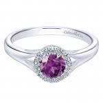 Ladies' Ring 14k White Gold Lusso Color Fashion
