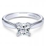 Engagement Ring Platinum Solitaire