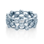 Verragio Large Bezel Set Diamond Wedding Band