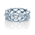 Verragio Bezel Set Diamond Wedding Band