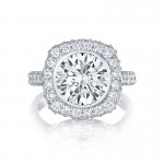 Tacori RoyalT Collection Round Cut Ring HT26142RD10
